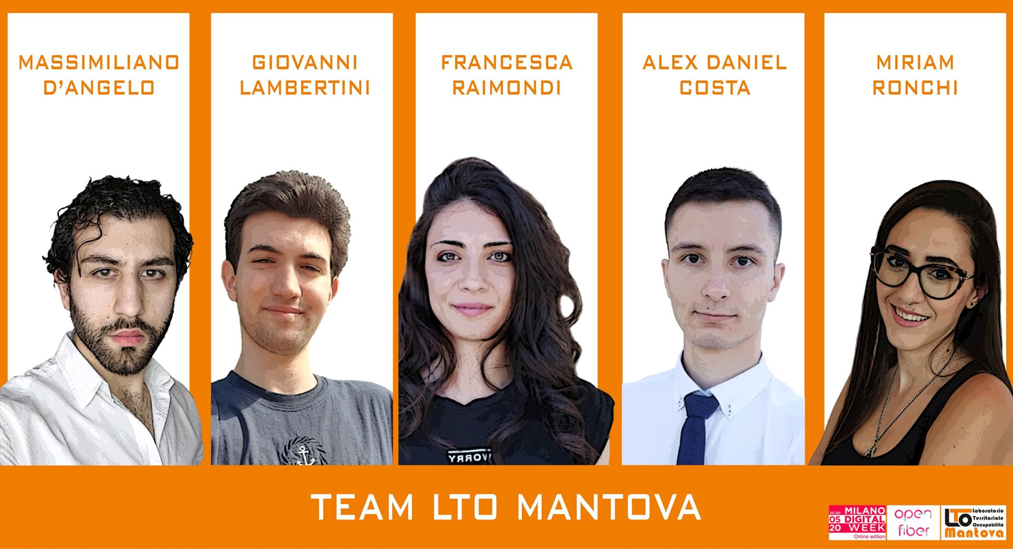 Milano Digital Week, il Team di LTO terzo classificato dell'Hackathon promosso da Open Fiber
