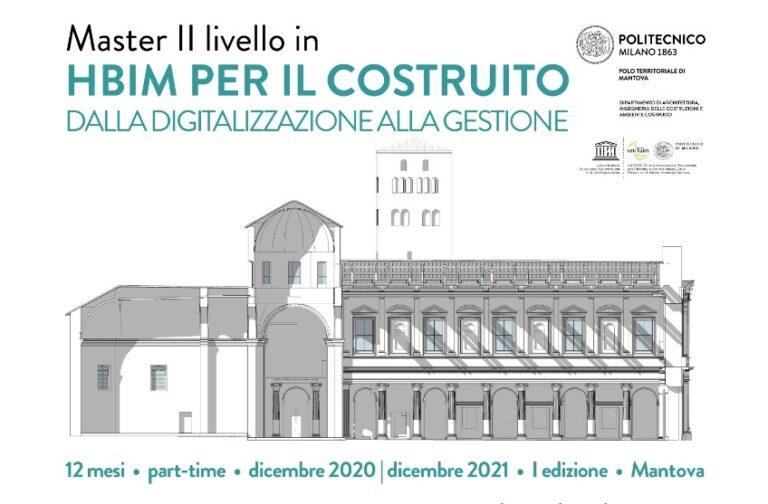 Master di II livello HBIM per il costruito Politecnico di Milano