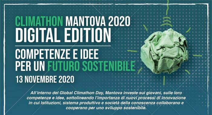 Global Climathon Day: rivoluzione circolare per l'economia mantovana