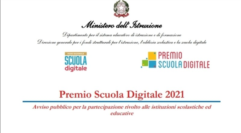 Premio Scuola Digitale 2021: l'avviso della terza edizione