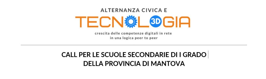 Alternanza Civica e Tecnologia: call per le scuole secondarie di I grado